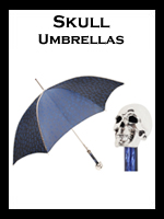 Women's Skull Umbrellas