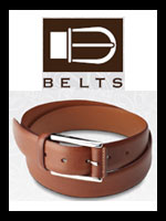 Pineider Leather Belts
