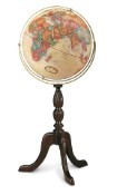 Replogle Cambridge Walnut Floor Globe