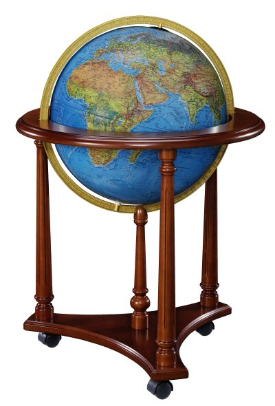 Replogle LaFayette Illuminated Floor Globe - Blue