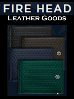 S. T. Dupont Fire Head Leather Goods Collection