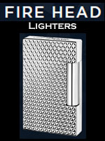 S. T Dupont Fire Head Lighter Collection