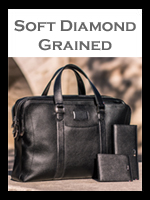 S. T. Dupont Line D Soft Diamond Grained Leather Goods | Men's