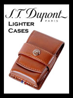 S. T. Dupont Leather Lighter Cases