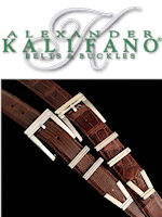 Kalifano Sterling Silver Belt Buckles