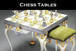 Historical Themed Chess Tables
