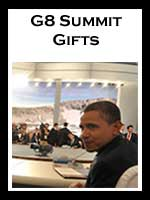 G8 Summit 2009 Gifts