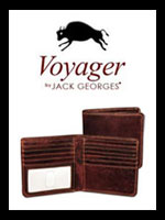 Jack Georges Voyager Wallets | Buffalo Leather