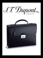 S. T. Dupont Luxury Leather Briefcases | France