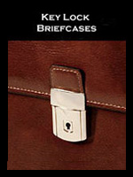 Key Lock Briefcases