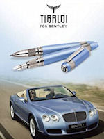 Tibaldi for Bentley Limited Edition Pens