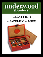 Underwood Leather Jewelry Cases