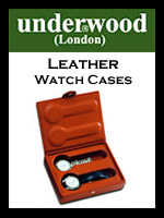 Underwood London Leather Watch Boxes | Handmade Florence Italy