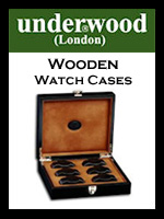 Underwood Wooden Watch Case Collections