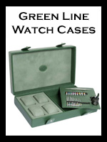 Underwood Green Watch Storage Boxes