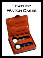 Underwood Leather Watch Cases