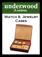 Underwood Watch & Jewelry Cases