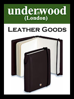 Underwood Leather Goods Collection