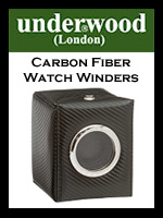 Underwood Carbon Fiber Watch Winders