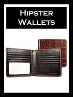 Men's Leather Hipster Wallets