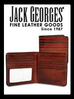Jack Georges Men's Leather Wallets