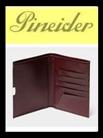 Pineider Luxury Leather Men's Wallets | Italy