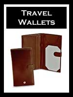 Men's Leather Travel Wallets