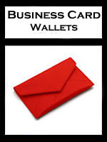 Pineider Leather Wallet Business Card Holders