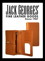Jack Georges Handmade Women's Leather Wallets