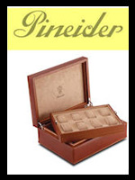 Pineider Luxury Leather Watch Boxes