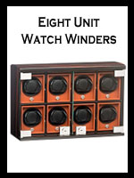 Eight Unit Automatic Watch Winders