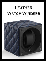 Hanmade Luxury Leather Watch Winders