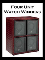 Quad: Watch Winders for Four Watches