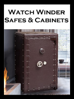 Watch Winder Safes and Cabinets