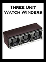 Triple: Watch Winders for Three Watches