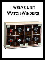 Handmade Twelve Module Watch Winders