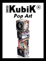 Swiss Kubik Pop Art Watch Winders