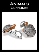 Zannetti Animals Cufflinks Collection