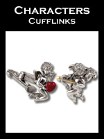 Zannetti Characters Cufflinks Collection