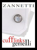Zannetti Cufflinks | Gold | Silver | Diamonds & Precious Jewels