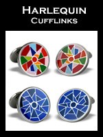 Zannetti Harlequin Cufflinks Collection