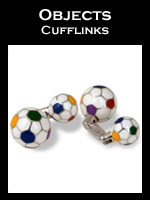 Zannetti Objects Cufflinks Collection