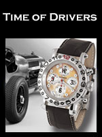 Zannetti Time of Drivers Watches