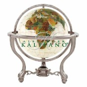 Full Cut Mother Of Pearl Gemstone Globe (GT220AS-MOP)