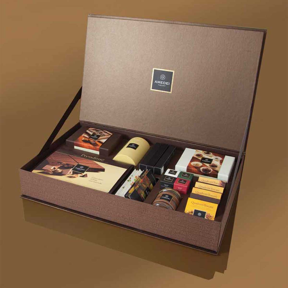 Amedei Luxury Chocolate Gift Box Infinito