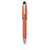 Aurora Ipsilon Orange Satin Ballpoint Pen