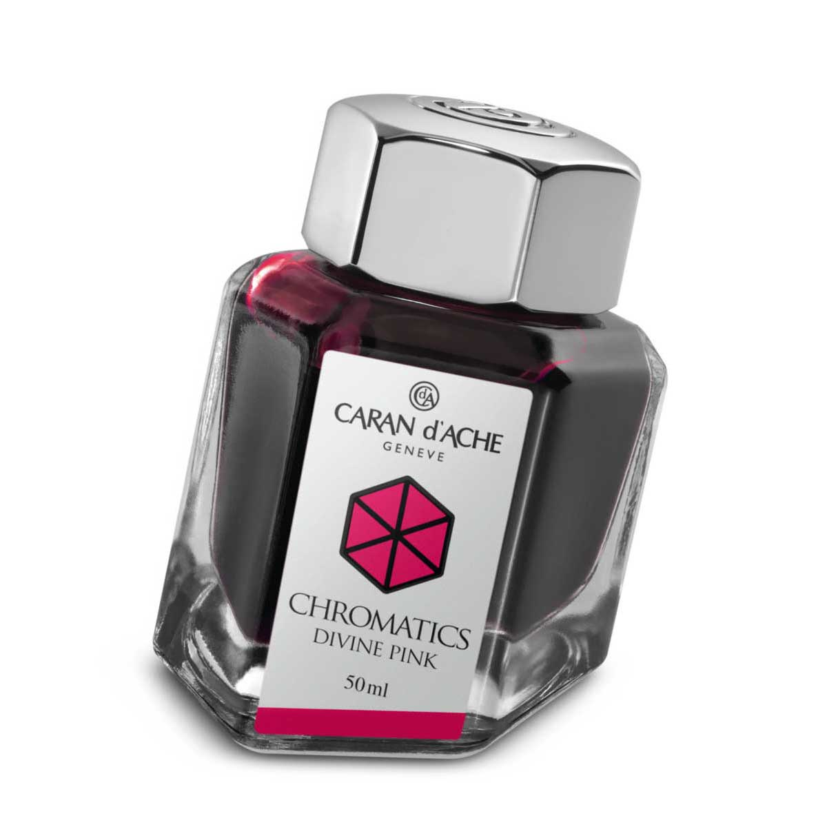 Caran d'Ache Chromatics Divine Pink Fountain Pen Inkwell