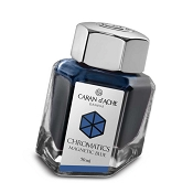 Caran d'Ache Chromatics Magnetic Blue Fountain Pen Inkwell
