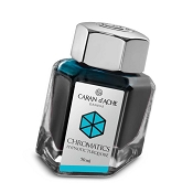 Caran d'Ache Chromatics Hypnotic Turquoise Fountain Pen Inkwell