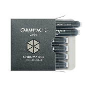 Caran d'Ache Chromatics Infinite Grey Fountain Pen Ink Cartridges